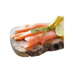 Wild Sockeye Smoked Salmon Pre-Sliced 1/2 lb
