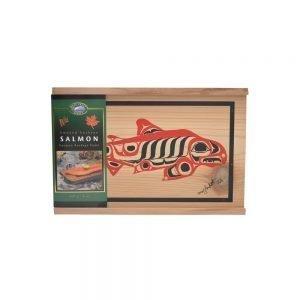 Smoked Sockeye Salmon in a Cedar Gift Box