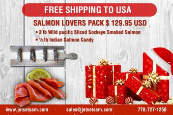 Salmon Lovers Gift Basket
